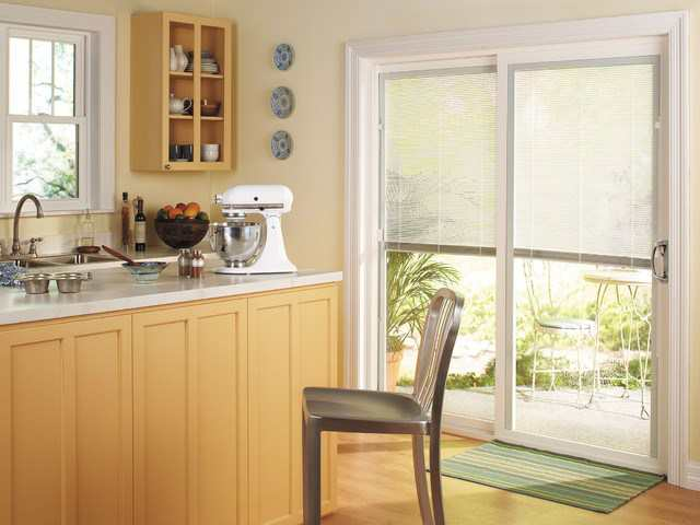 Patio Door Blinds Ottawa Elite Draperies - Patio door blind