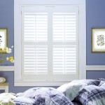Custom Shutters in Ottawa - Bedroom