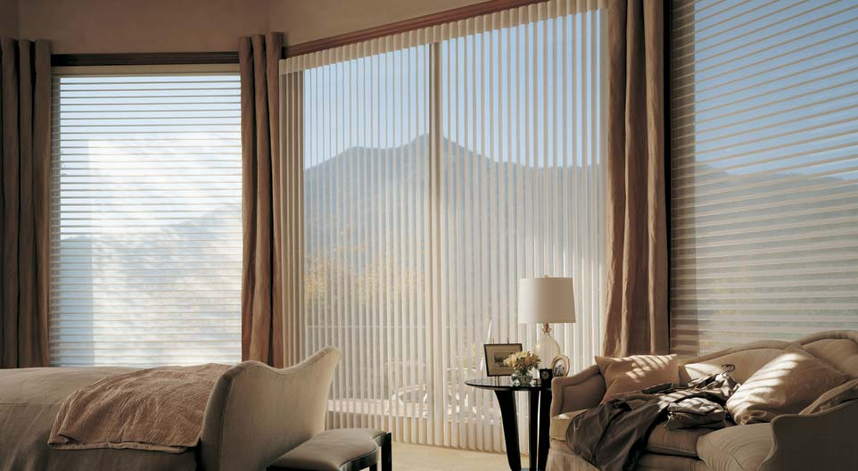 silhouette douglas blinds with window douglass hunter shadings