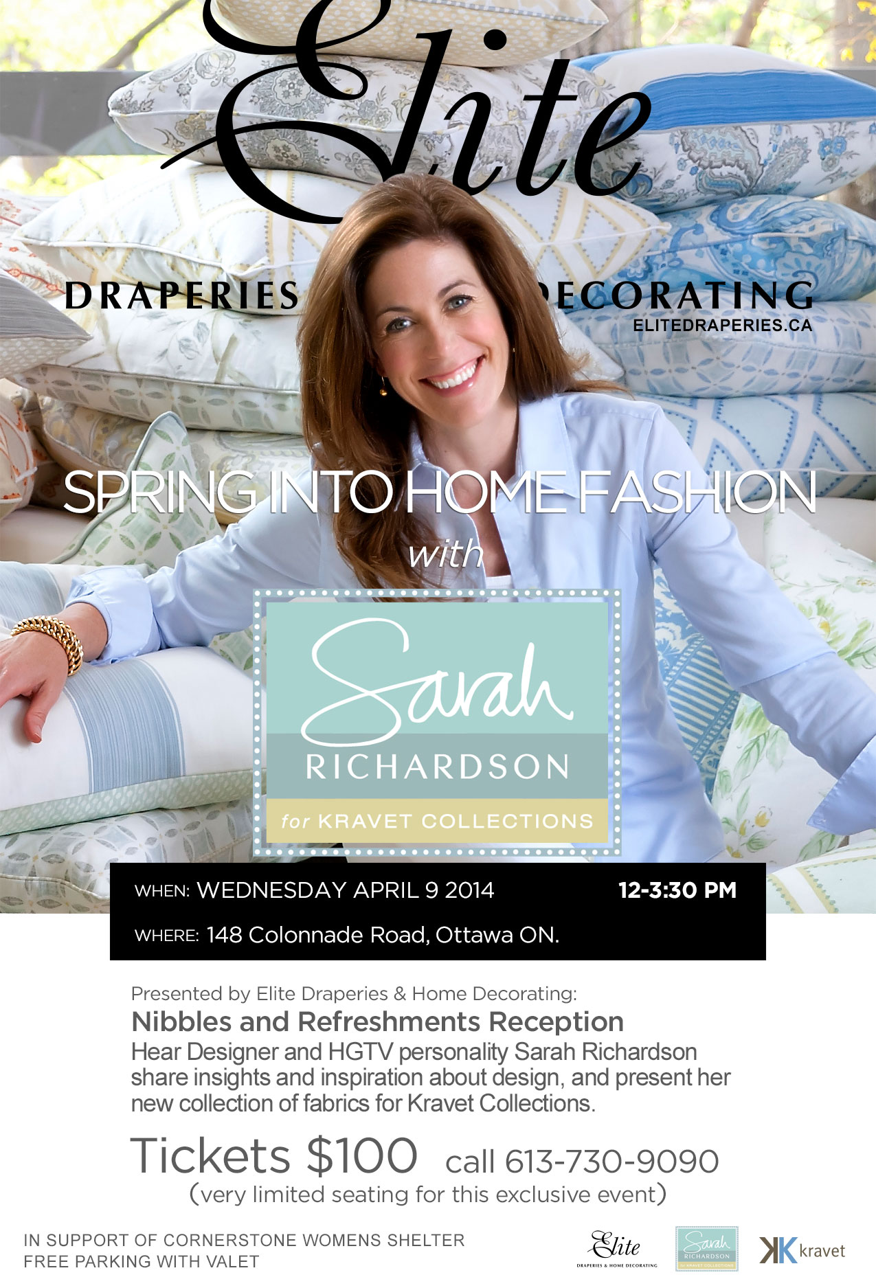 Meet with Sarah Richardson